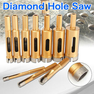 10mm 45mm Diamond Hole Saw Drill Core Bit Tile Ceramic Porcelain Stone Marble