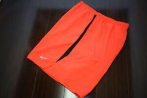 26557 Mens Nike Running Dri Fit Lined Pink Athletic Work Out Shorts Sz 2XL XXL