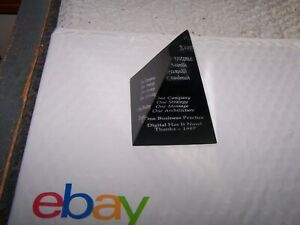 digital equipment corporation Digital Thanks 1987 Pyramid Paperweight $70.30