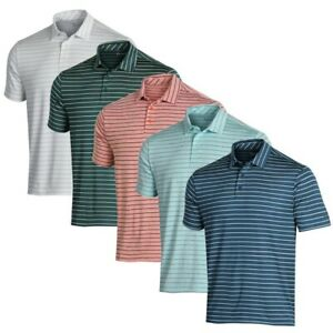 NEW Mens Under Armour 2019 Playoff Tour Stripe Golf Polo - Choose Size