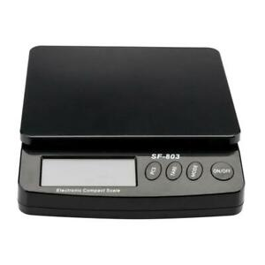 66lbs Digital LCD Postal Scale Shipping Electronic Scale 30KG Post Office $16.99