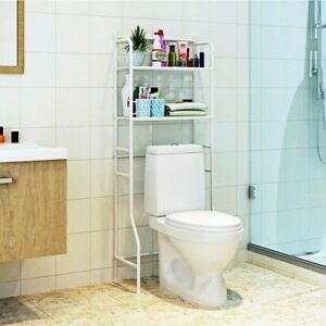 Space Saver For Bathroom Over The Toilet Storage Shelf Cabinet Organizer Rack