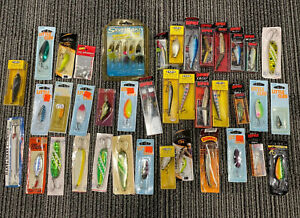 HUGE LOT VINTAGE Rapala LITTLE CLEO STORM MEPPS Fishing Lures!!!  New In BOX!