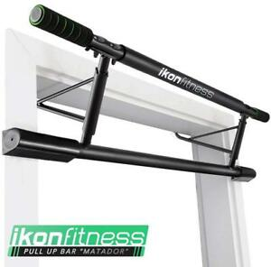 Original Ikonfitness Pull Up Bar Doorway Exercise Fitness Training Chin Up Bar