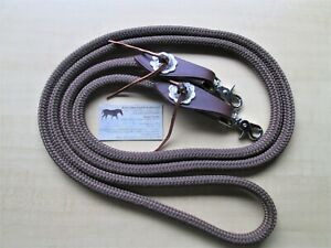 BROWN Yacht Rope Reins 8' x 12