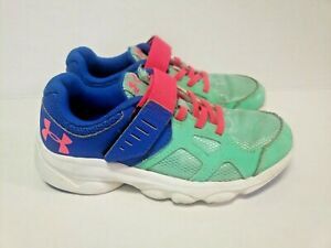Under Armour Girls Tennis Shoes  Size 13.5