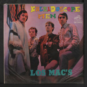 LOS MAC'S: Kaleidoscope Men LP (Chile, close to M-) rare Rock & Pop