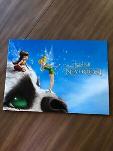 2015 Disney Store Exclusive Commemorative Lithograph Set of 4 - Tinker Bell