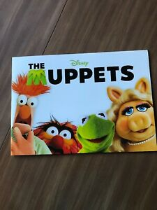 2012 Disney Store Exclusive Commemorative Lithograph Set of 4 - The Muppets
