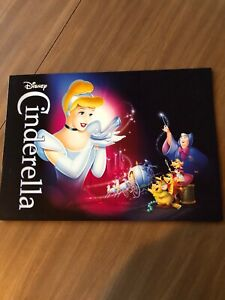 2012 Disney Store Exclusive Commemorative Lithograph Set of 4 - Cinderella