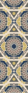 Surya KAL-8003 Kaleidoscope Transitional Global Beige 2'6