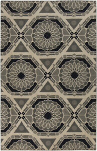 Surya KAL-8004 Kaleidoscope Transitional Global Beige 5' x 8' Area Rug