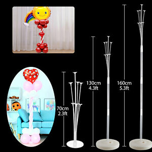 US Balloon Column Stand Kit 3 Size for Table Decor Birthday Baby Shower Wedding $10.57