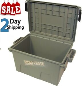 2 PACKS MTM ACR8 Ammo Crate Utility Box Ammunition Can - Dry Storage Box