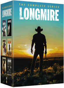 LONGMIRE Complete Series Collection Seasons 1-6 DVD Season 1 2 3 4 5 6