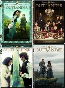 Outlander The Complete Series Season 1-4 ( DVD, 2019, 17-Disc Box Set ) 1 2 3 4