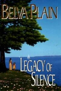 Legacy of Silence, Belva Plain, Good Condition, Book