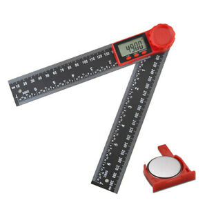200mm Digital Angle Inclinometer Measure Meter Electronic Goniometer Protractor $19.12