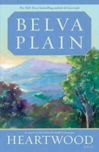 Heartwood: A Novel, Belva Plain, Good Condition, Book