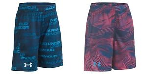 New Under Armour Boys Boost Logo Shorts Choose Color and Color MSRP $22.00 $12.99