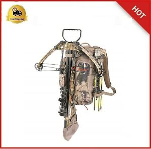 Crossbow Backpack Hunting Pack Bow Carry Gun Extension Hunt Bag Pack Padded Best
