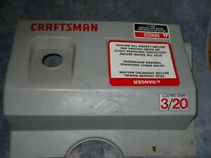 CRAFTSMAN / MURRAY / NOMA  3 /20  SNOWBLOWER TOP COVER