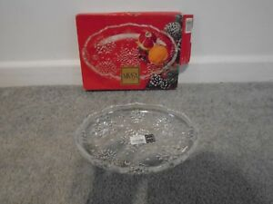 Mikasa Made In Germany Snowflake Sweet Dish 9 1 4 New In Box