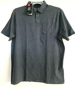 NEW Under Armour Heatgear Mens Short Sleeves Scramble Golf Polo Shirt Size L $23.88