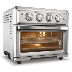 Cuisinart TOA 60 Convection Toaster Oven Air Fryer with Light Silver $137.99