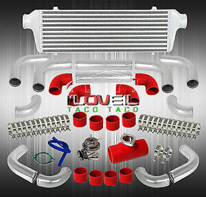 Fmic Front Mount Intercooler + Rs Type Blow Off Valve + Stainless Steel T-Bolts
