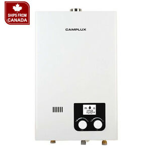 Camplux 10L 2.64 GPM LP High Capacity Indoor Tankless Hot Water Heater