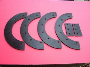 SNOWBLOWER PADDLE SET John Deere 21