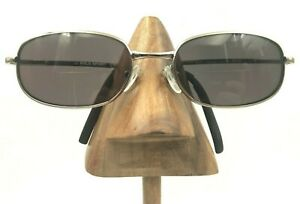 Vintage Polo Ralph Sport 1093 N S TW3 RA Silver Oval Sunglasses FRAMES ONLY $20.40