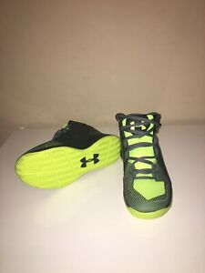 Under Armour Athletic Shoes Boy's Size 13K BlackWhite