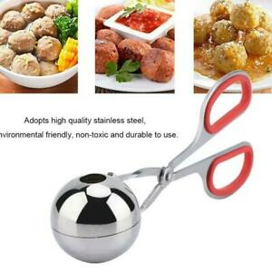 Stainless Steel Stuffed Meatball Clip Kitchen Cooking Tools Non-Stick Maker Mold