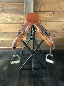 14 Pessoa Saddle children's show saddle. In very good used condition.
