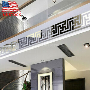 3D Mirror Wall Sticker Nordic style Wall Art Decals Removable Home Decor 10PCs $6.49