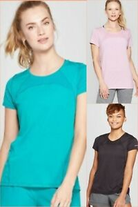 Women's Short Sleeve Running T Shirt C9 Champion Various Sizes and Colors $11.69