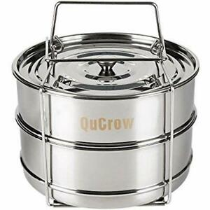 Stackable Multipots & Pasta Pots Steamer Insert Pan With Sling - Stainless Steel