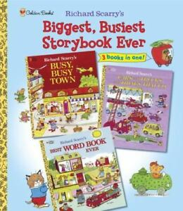 Richard Scarry's Biggest, Busiest Storybook Ever Picture Book Scarry, Richard