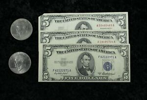 Miscellaneous U.S. Currency and Eisenhower Dollars.