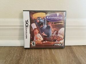 NEW SEALED Shrink Wrapped Ratatouille Disney Nintendo DS Game THQ S2 5 B14 $19.99
