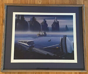 """TIM WISTROM """" DOWN TOWN"""" (SEATTLE) FRAMED SIGNED & NUMBERED 117950"""