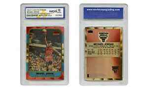 Polychrome Refractor Gold MICHAEL JORDAN FLEER ROOKIE CARD Graded GEM MINT 10