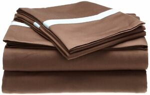3-pc Twin Hotel Collections 300 Thread Count Sheet Set Sateen Fin