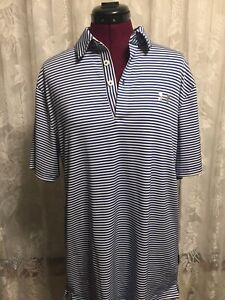 Under Armor Polo Shirt 1 4 Button Down Short Sleeve Mens Size Large $12.88