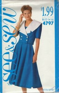 Pattern Butterick Sewing Girls Dress Special Occasion Party Flower Size 2 5 NEW $4.05