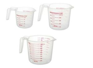 Pyrex Measuring Cups 3-Piece ClearStackable Plastic