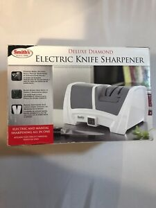 Smith's 50378 Deluxe Diamond Electric Kitchen Knife Sharpener New