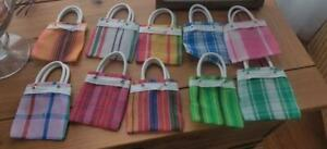 Set of 10 Mini-Bags Mexican Party Favors/Candy Bags
